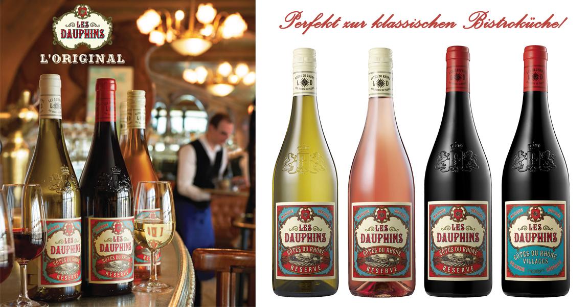 Les Dauphines Weine günstig kaufen.