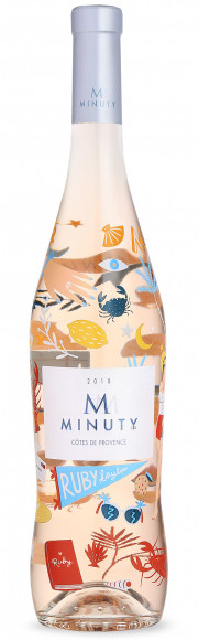 Chateau Minuty Cuvée M Rosé Limited Edition Ruby Taylor