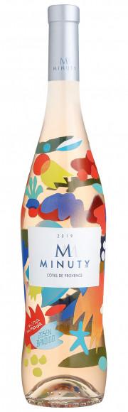 Chateau Minuty Cuvée M Rosé Limited Edition Mina & Zosen