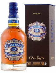 Chivas Regal Aged 18 Years Gold Signature